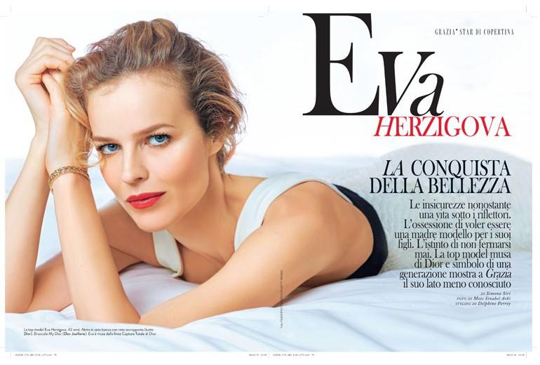 Eva Herzigova: la conquista della bellezza