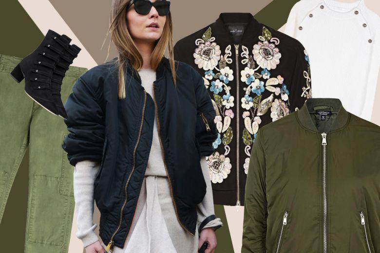 Come indossare il bomber: 3 idee dallo street style