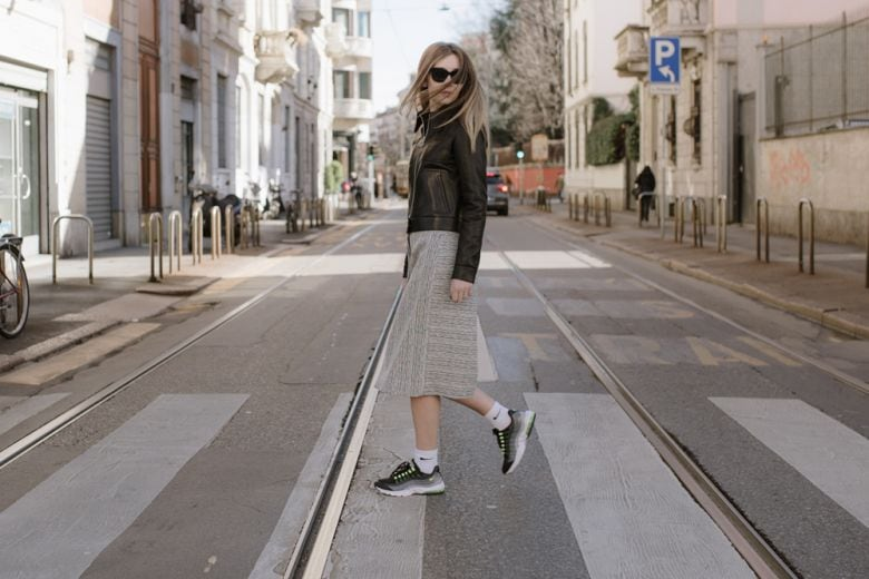Milano Fashion Week con Chiara Capitani e Nike Air Max