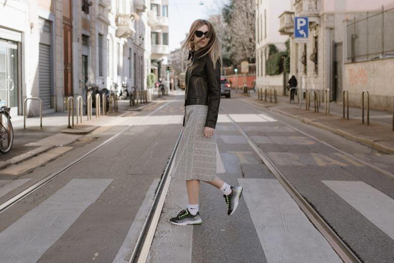 Milano Fashion Week con Chiara Capitani e Nike Air Max
