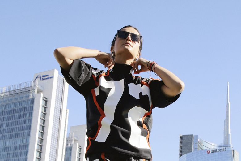Tubular Viral, le nuove sneakers adidas Originals, indossate da Ilaria Norsa