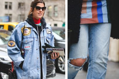 Street style trend: il denim