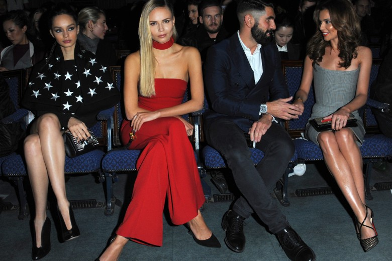 London Fashion Week front row: gli ospiti in prima fila
