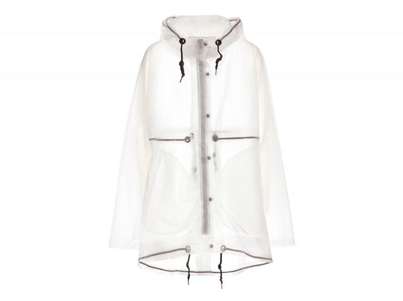 hunter giacca trasparente