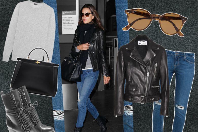 Easy look da weekend come Alessandra Ambrosio