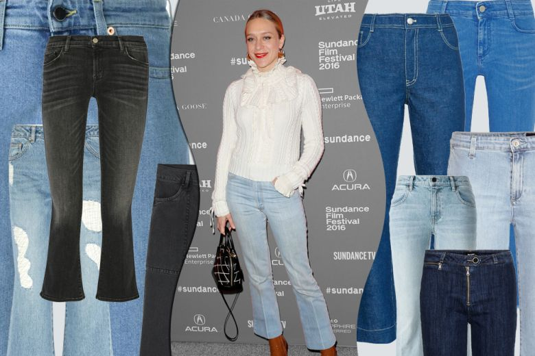 Tutte pazze per i jeans cropped & flare