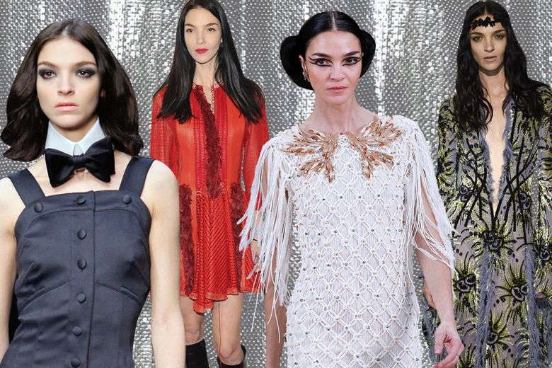 Mariacarla Boscono: i look più iconici della top