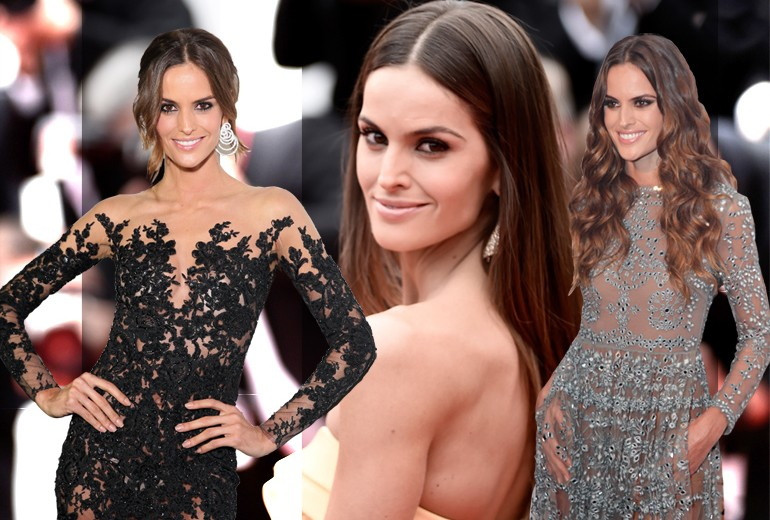 Izabel Goulart: i migliori beauty look tra onde glam e make up nude