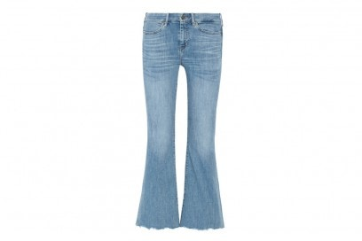 jeans flare cropped mih-jeans