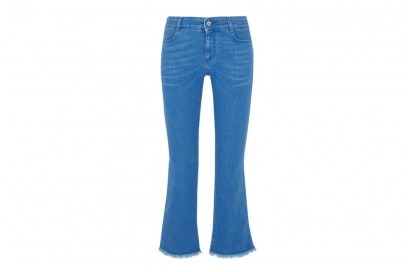jeans flare cropped stella-mccartney