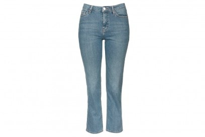 jeans flare cropped topshop
