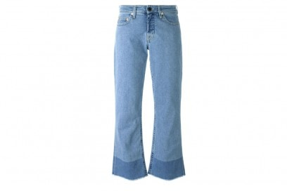 jeans flare cropped victoria-victoria-beckham