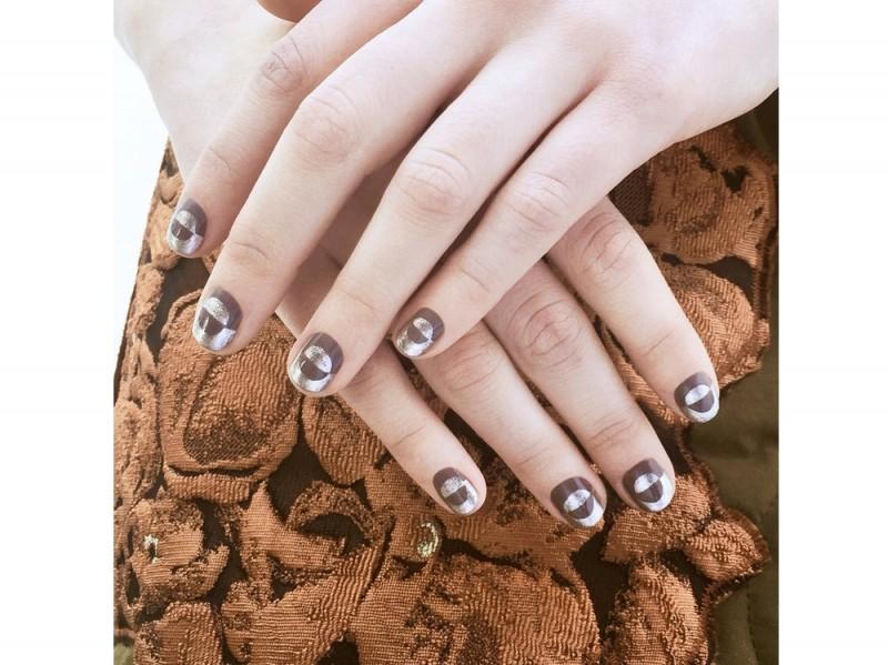 philip lim ai 2016 philip lim manicure by Madeline Poole for sally hansen instagram at-sally_hansen