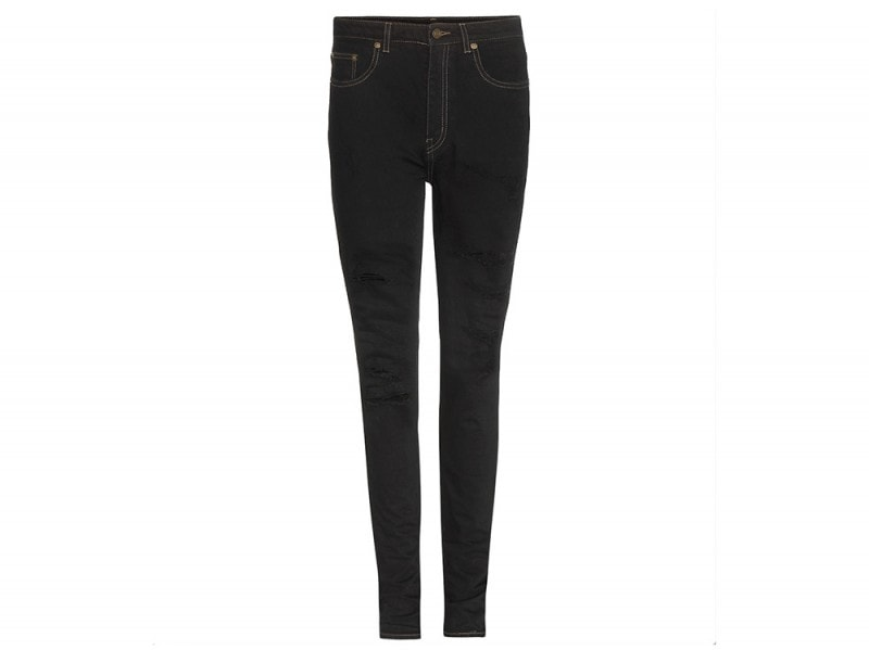 saint laurent skinny jeans neri