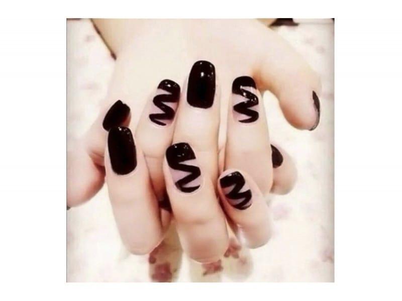 shooka nail design – con puntini tra le parole