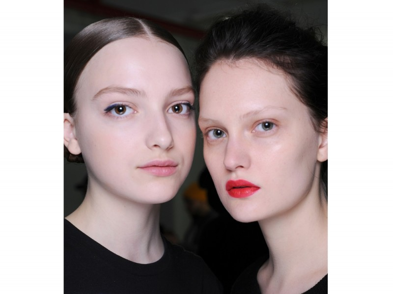 tendenze-new-york-fashion-week-autunno-inverno-2016-NARS Mansur Gavriel AW16 Beauty Look 1