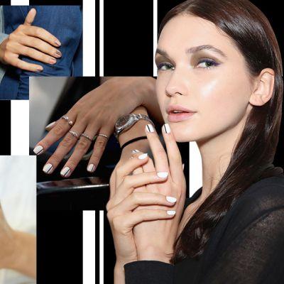 Nail art: le manicure a righe della Primavera
