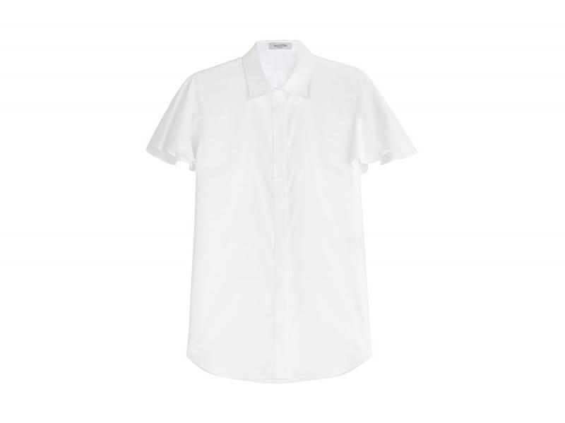 valentino camicia bianca maniche ampie