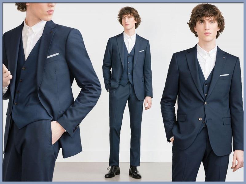 Abito tre pezzi Il gilet non passa mai di moda e ripara dai brividi delle  mezze stagioni. Con o senza cravatta 7f2fa11461e