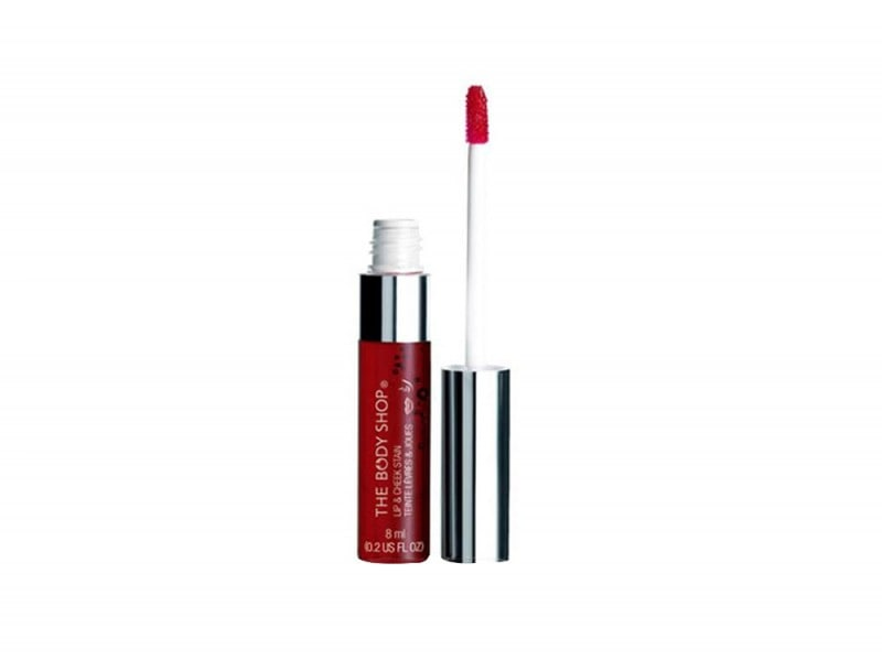 lip stain the body shop