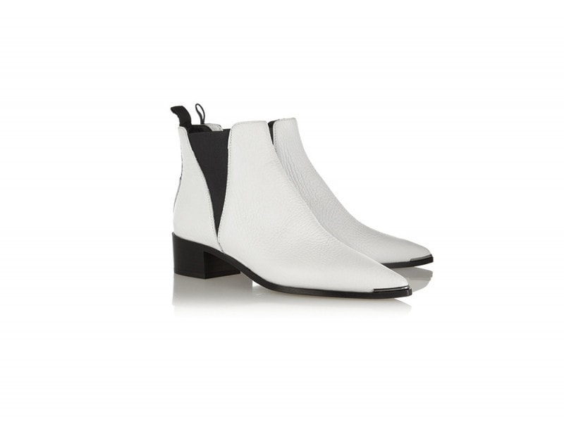 ACNE STUDIOS Jensen textured-leather ankle boots_NET