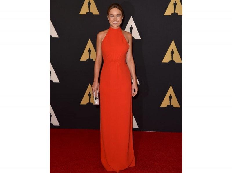 Brie Larson in Calvin Klein Collection