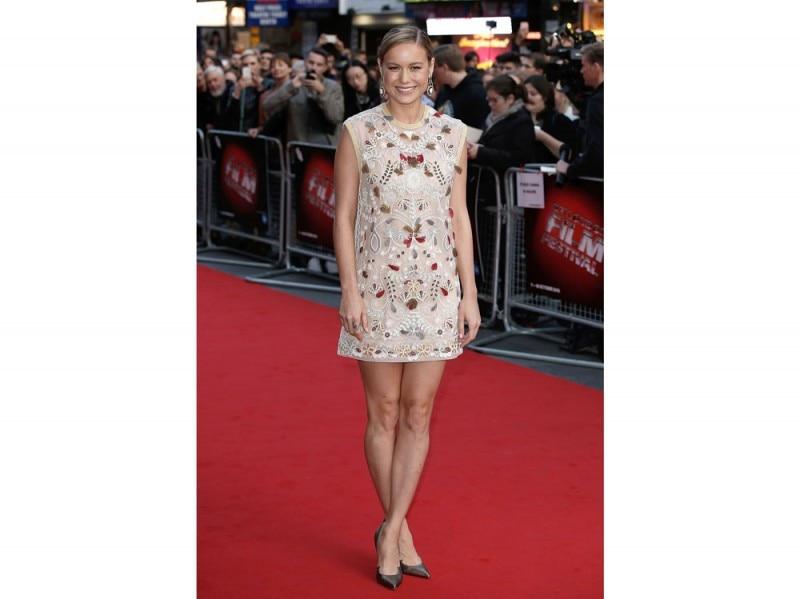 Brie Larson in Valentino