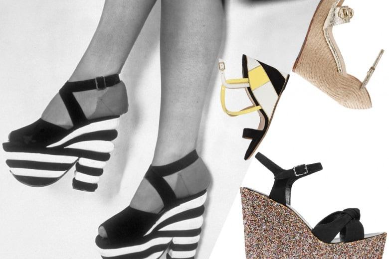 Scarpe con la zeppa: 20 modelli per la primavera