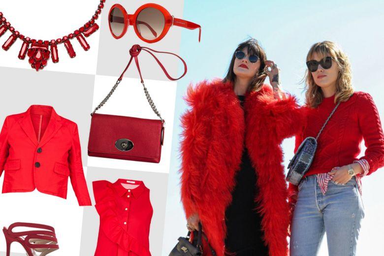 Shopping: qualcosa di rosso!