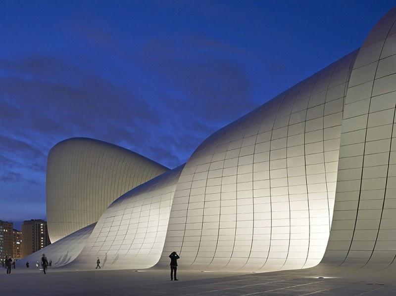 Centro culturale Heydar Aliyev, Baku, Azerbaigian2