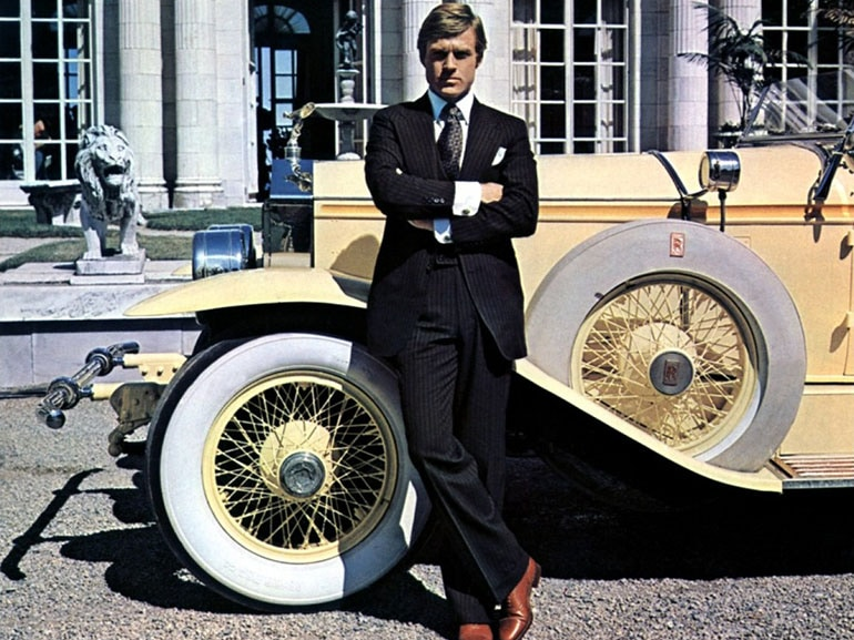 Cover Great Gatsby Redford mobile