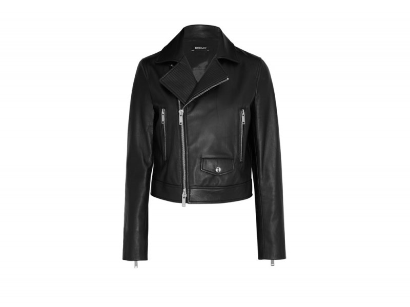 DKNY-giacca-pelle