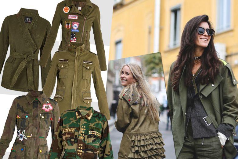 Shopping: il nuovo look militare!