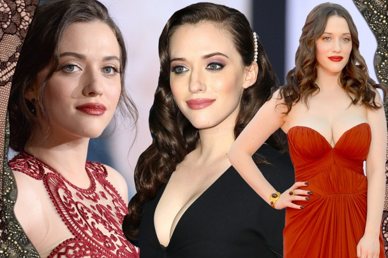 Kat Dennings: i make up più belli dal rossetto rosso allo smokey eyes