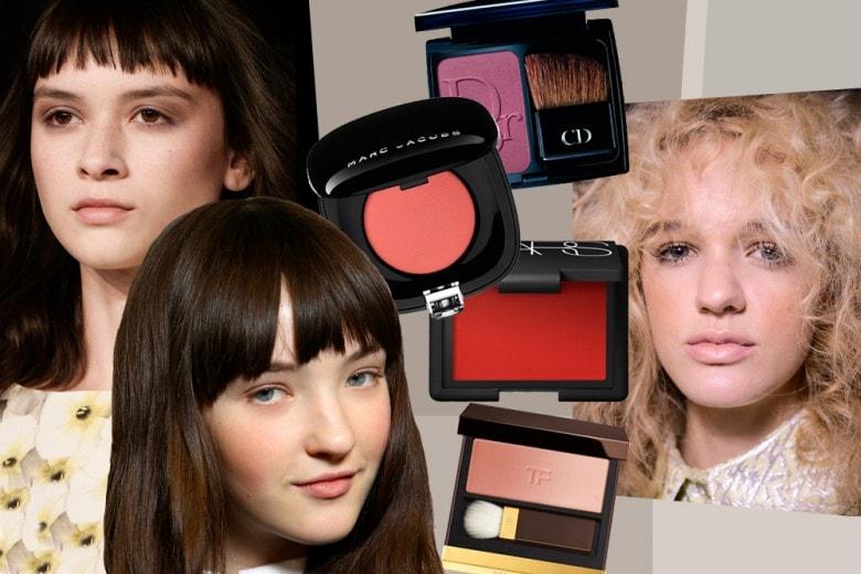 Come scegliere e applicare il blush per valorizzare il viso
