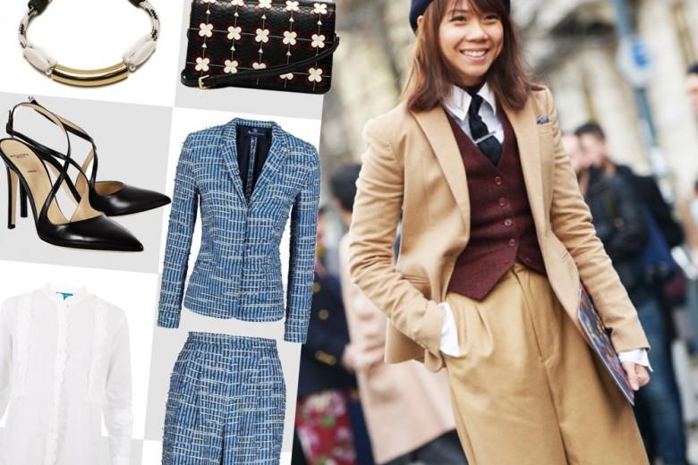 Shopping: in giacca e pantaloni!