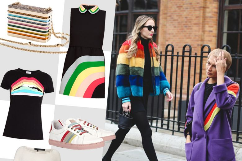 Shopping: effetto rainbow!