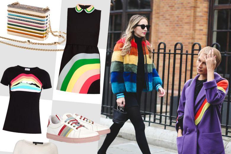 Shopping: effetto rainbow!