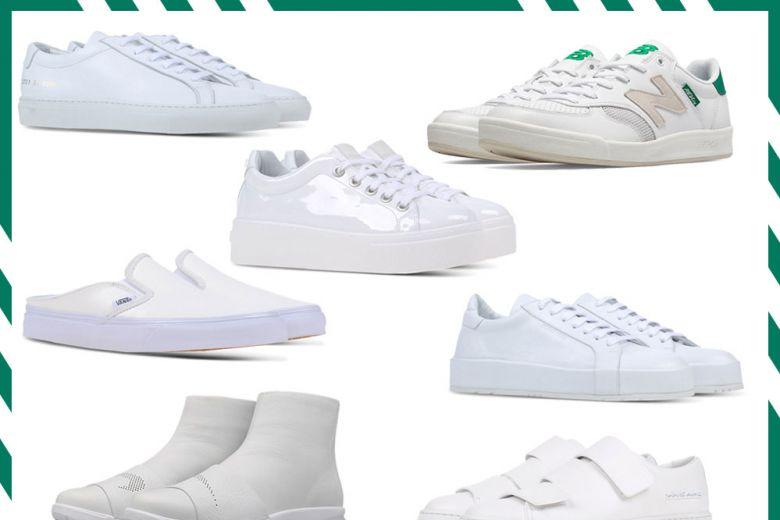 Le sneakers bianche più hot per la primavera 2016