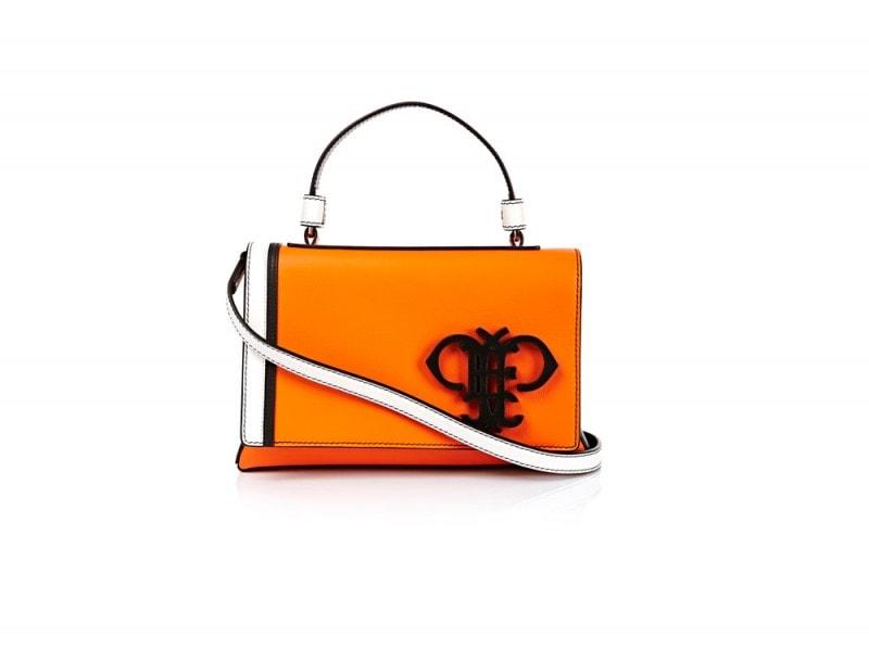 Emilio-Pucci-Orange-Logo-Bag