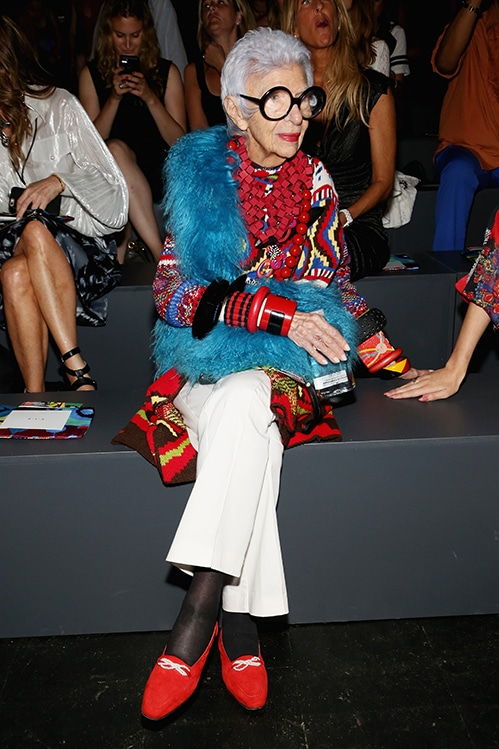Desigual – Front Row – Spring 2016 New York Fashion Week: The Shows