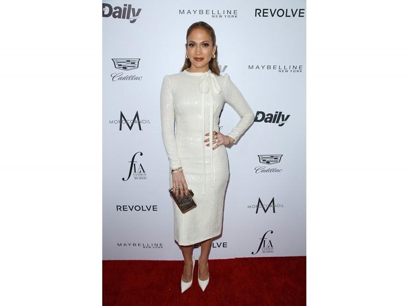 Jennifer Lopez in Ermanno Scervino