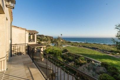La bellissima vista dal primo piano