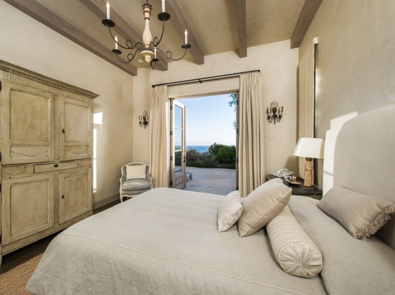 La camera da letto degli ospiti