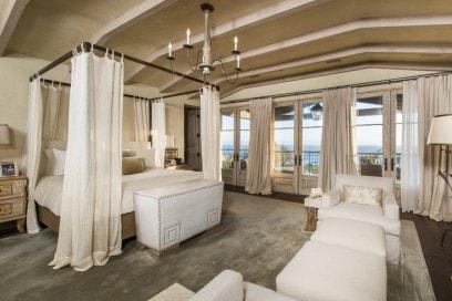 La camera da letto padronale