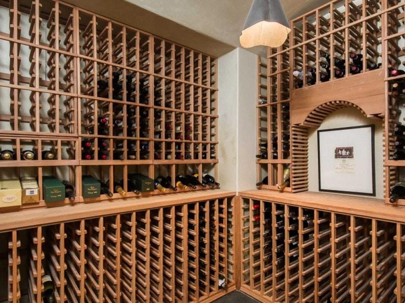 La cantina per i vini
