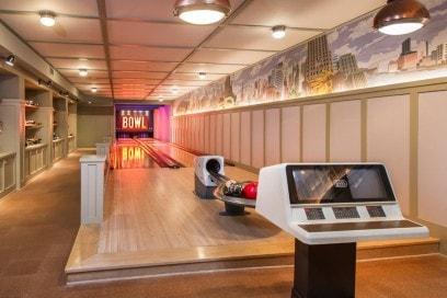 La pista da bowling privata