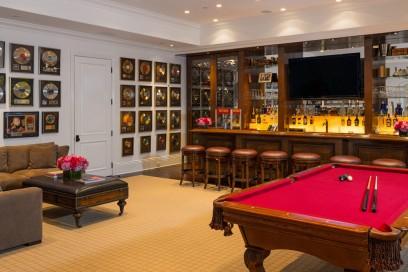 La zona bar e gioco