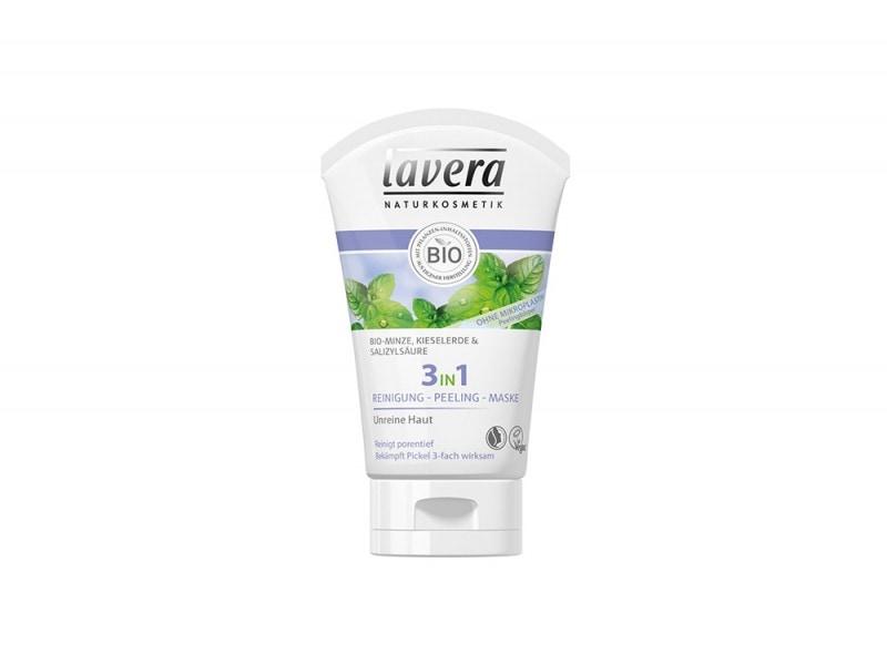 Lavera Bio Menta – Maschera Esfoliante 3in1