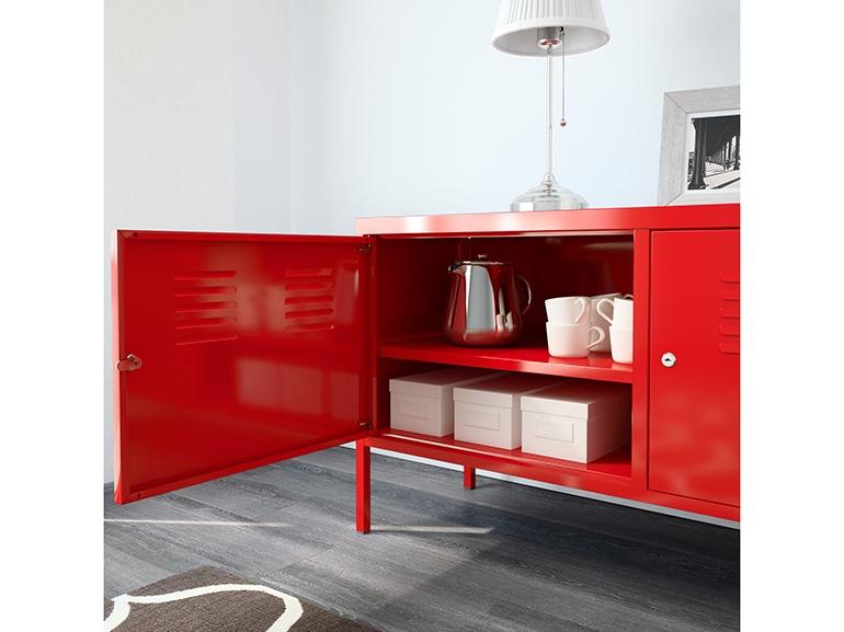 Lo scaffale IKEA ambientato